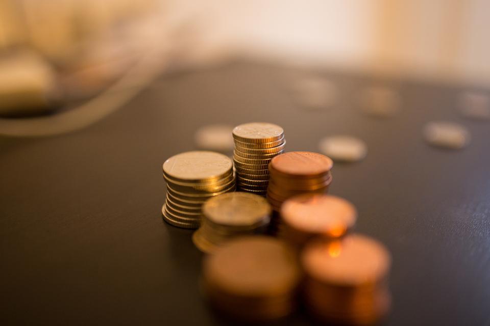 Bunt med penger