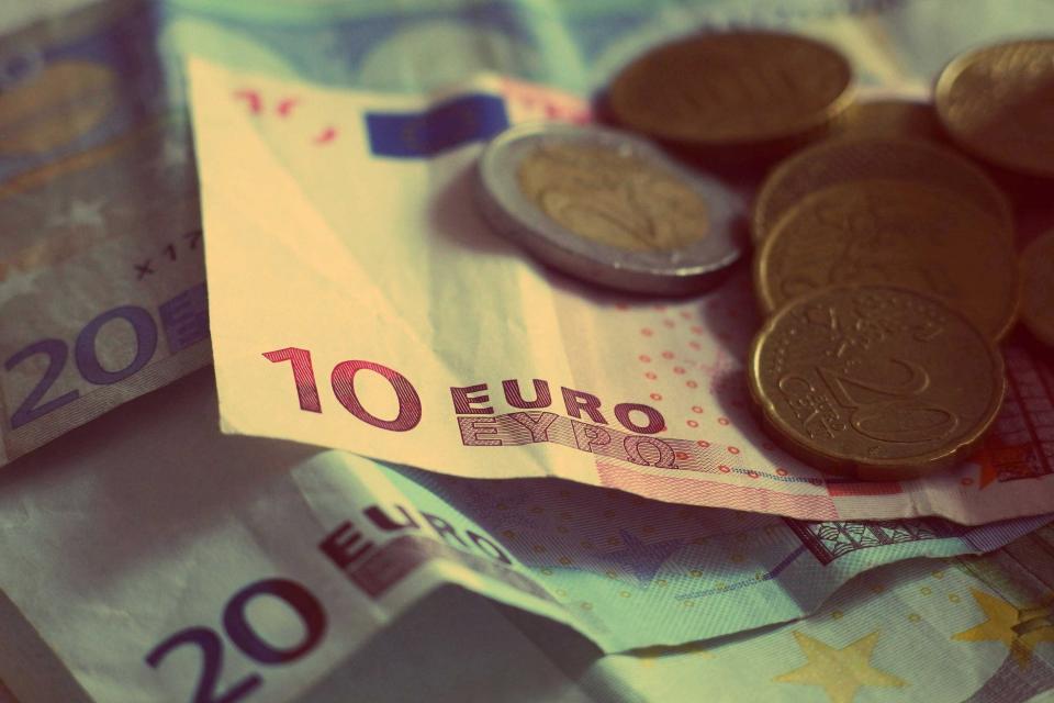 Bunke med euro