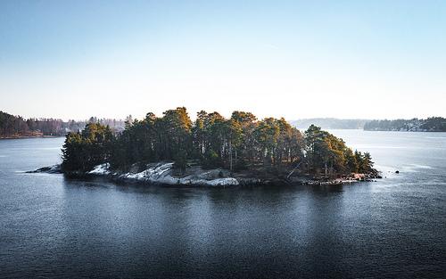 En øde øy